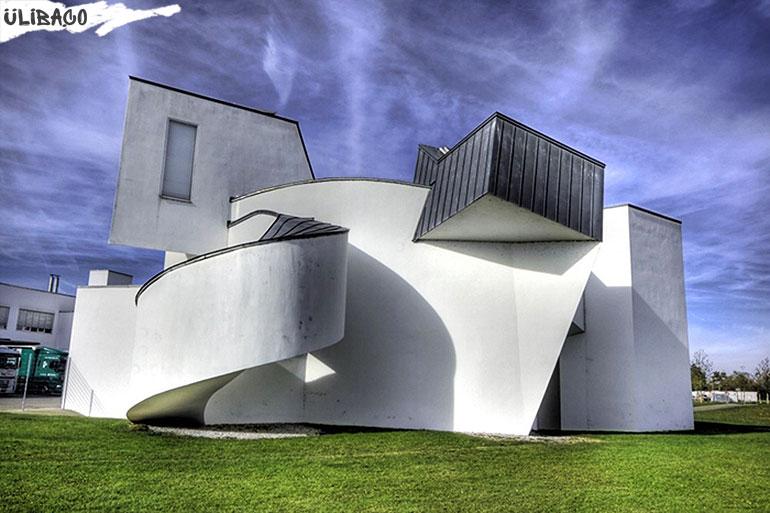 Фрэнк Гери. Музей дизайна Витра в городе Вайле-на-Рейн