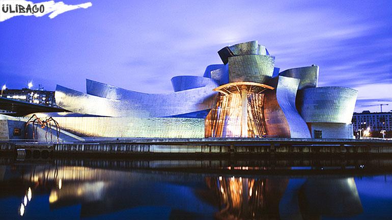 Фрэнк Гери Музей современного искусства Гугенхайма в городе Бильбао, Испания