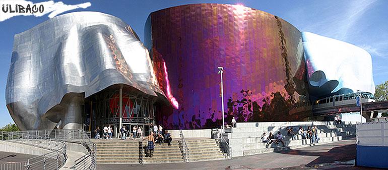 Фрэнк Гери Центр-музей музыки «Experience Music Project» в городе Сиэтл