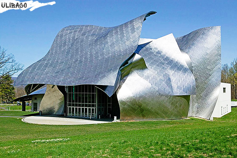 Фрэнк Гери Выставочный центр имени Ричарда Фишера в городе Аннандэйл-на-Гудзоне