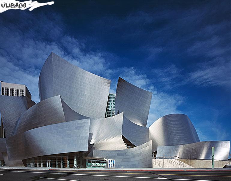 Фрэнк Гери Концертный зал имени Уолта Диснея в городе Лос-Анджелесе