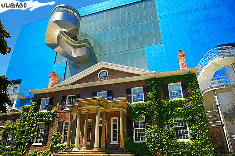 Фрэнк Гери Реконструкция «Art Gallery of Ontario» в городе Торонто