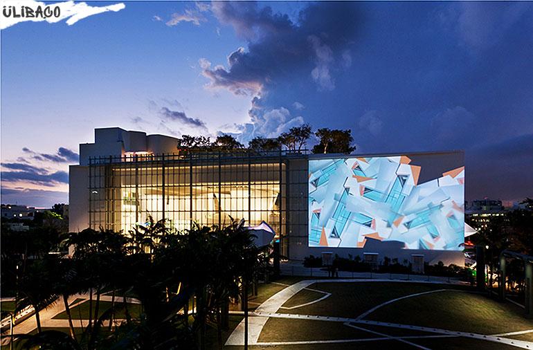 Фрэнк Гери Международный центр в городе Майами