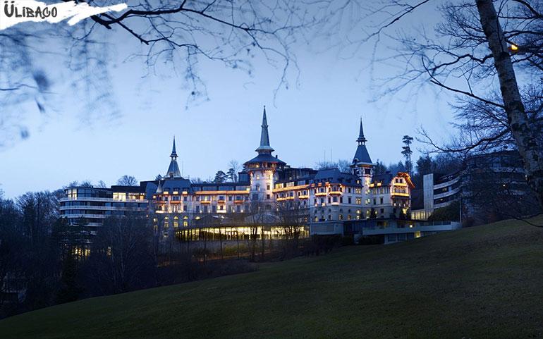 Отель Dolder Grand Hotel в городе Цюрих