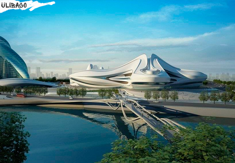 Заха Хадид Международный центр культуры и искусства в городе Чанша