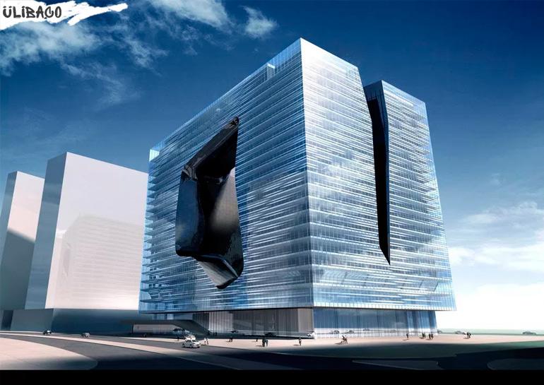 Заха Хадид Opus Office Tower в городе Абу-Даби, ОАЭ