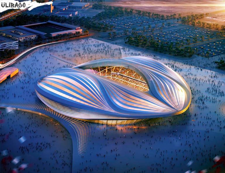 Заха_Хадид Стадион Al Wakrah в городе Аль-Вакра, Катар