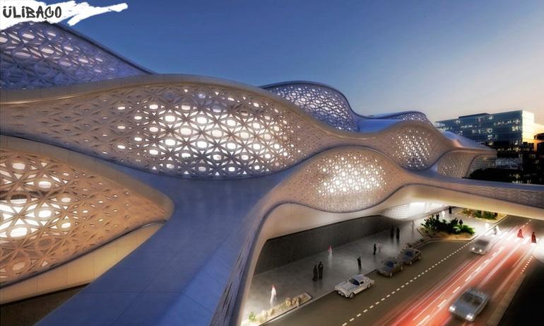 Заха_Хадид Станция метро в городе Эр-Рияд, Саудовская Аравия