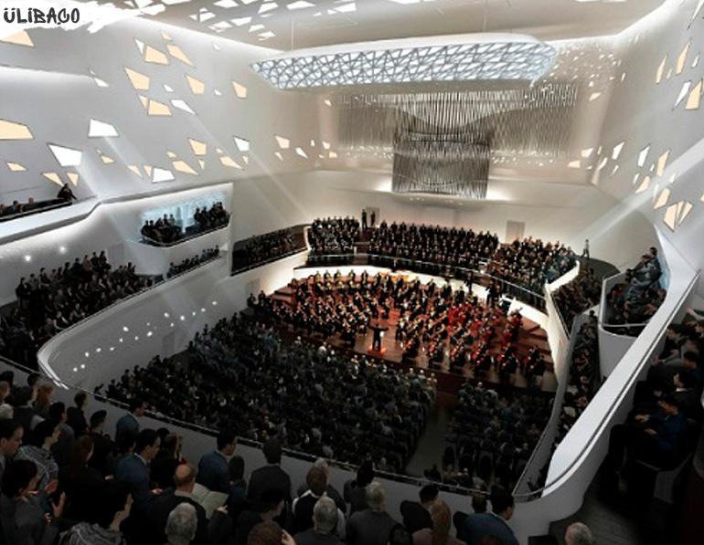 Заха Хадид Фестивальный комплекс имени Бетховена в городе Бонна