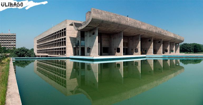 Ле Корбюзье Дворец Ассамблеи в городе Чандигарх Индия