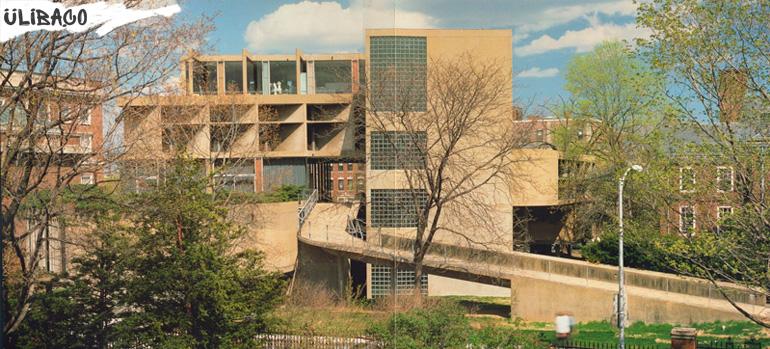 Ле Корбюзье Центр визуальных искусств в городе Бостон