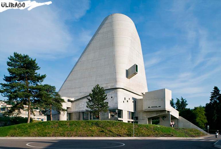 Ле Корбюзье Церковь Сен Пьер в городе Фирмин