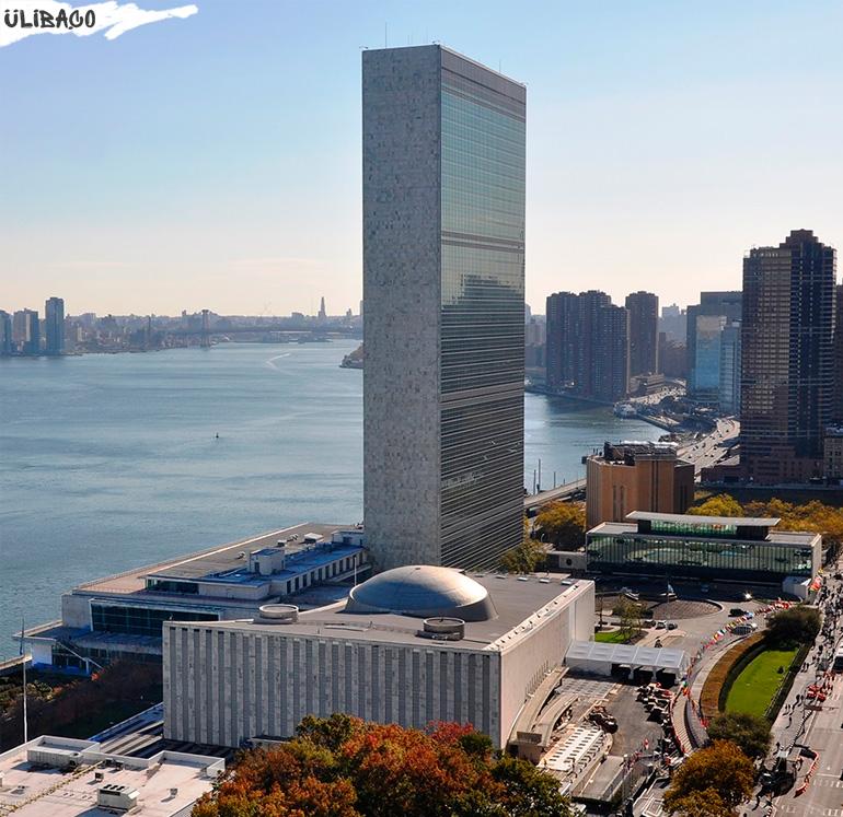 Ле Корбюзье Центральные учреждения Организации Объединенных Наций в городе Нью-Йорк