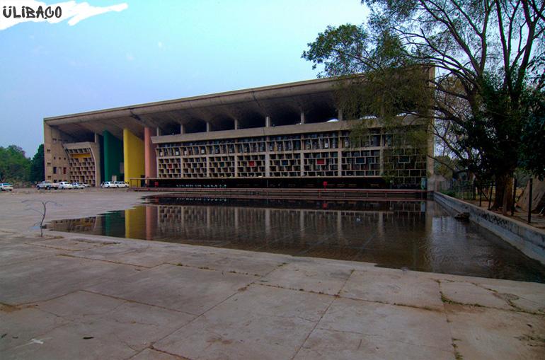Город Чандигарх в Индии