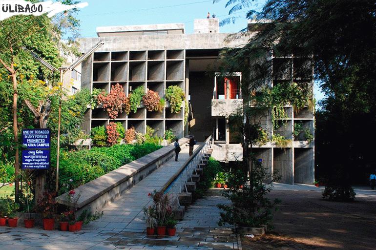 Ле Корбюзье Здание Ассоциации владельцев ткацких фабрик в Ахмадабаде