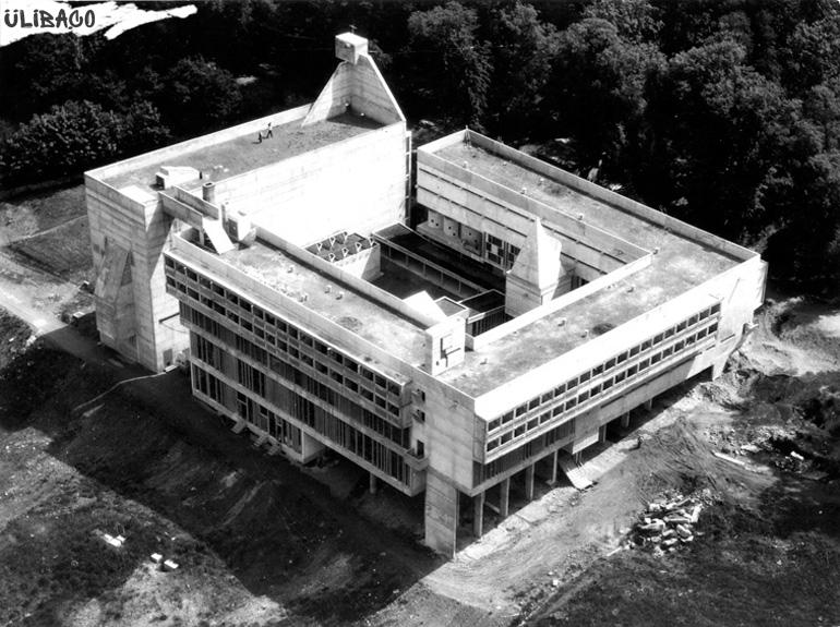 Ле Корбюзье Доминиканский монастырь Ла Туретт Sainte Marie de La Tourette