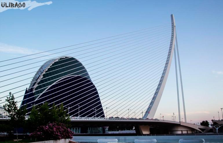 Сантьяго Калатрава Мост «Арфа Давида»