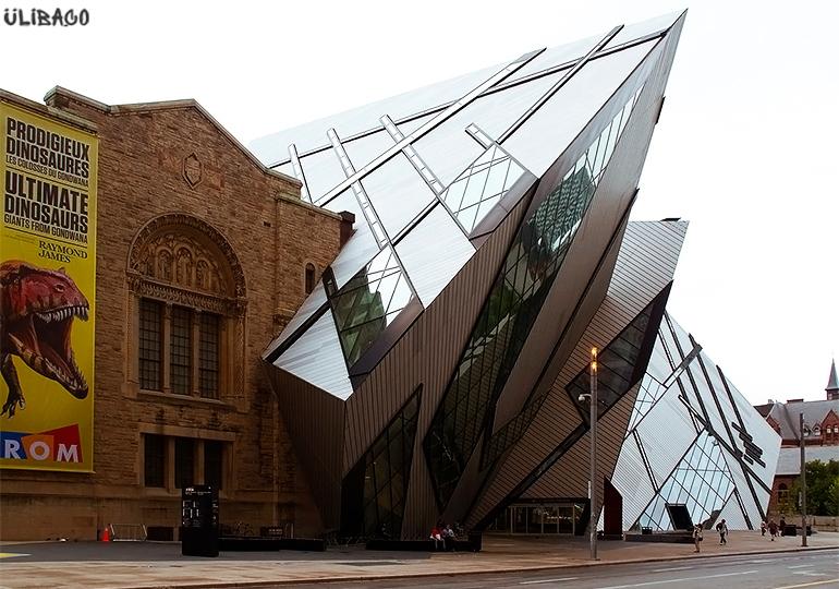Даниэль Либескинд Королевский музей в Онтарио 1