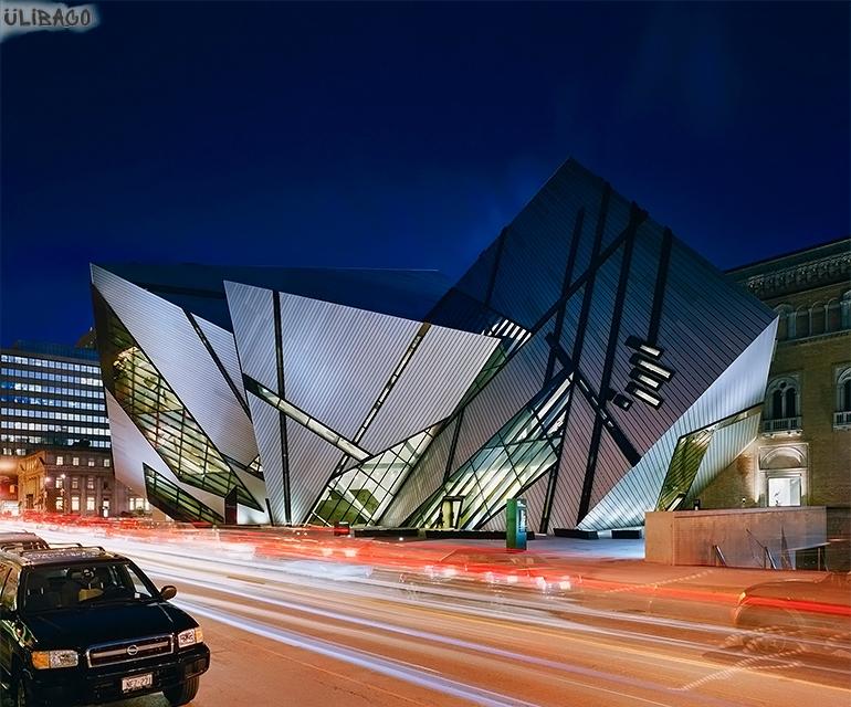 Даниэль Либескинд Королевский музей в Онтарио 2
