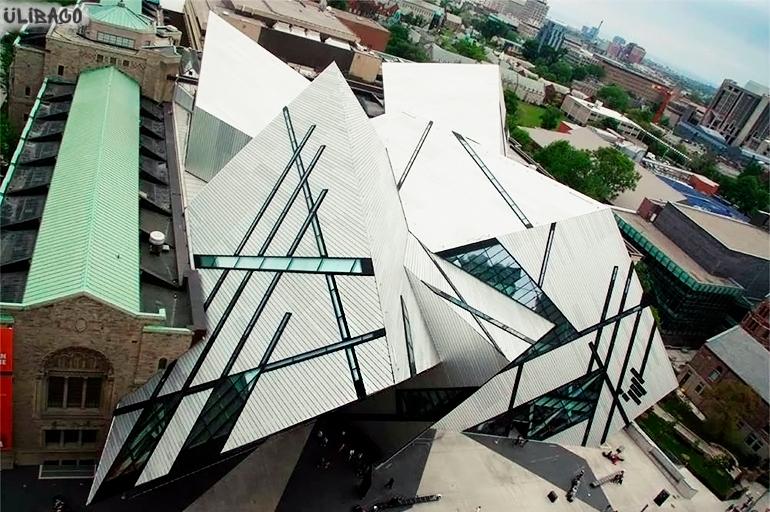 Даниэль Либескинд Королевский музей в Онтарио 4