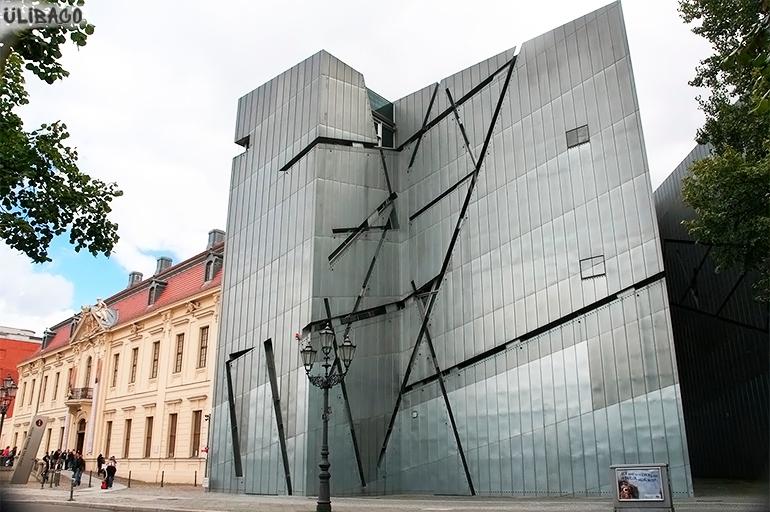 Даниэль Либескинд Музей еврейской культуры в Берлине 1