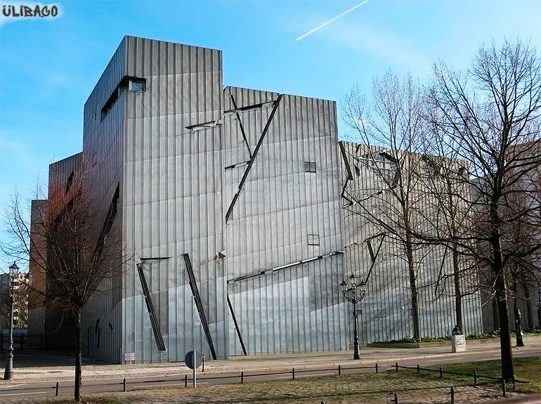 Даниэль Либескинд Музей еврейской культуры в Берлине 2