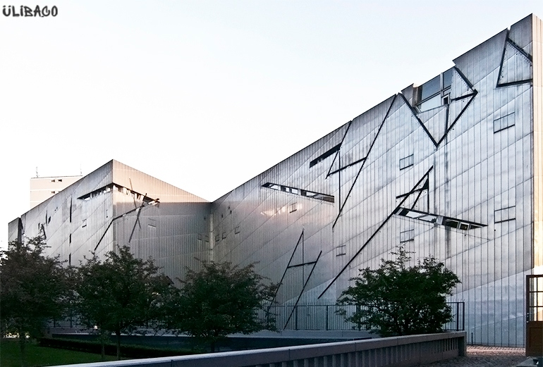 Даниэль Либескинд Музей еврейской культуры в Берлине 3