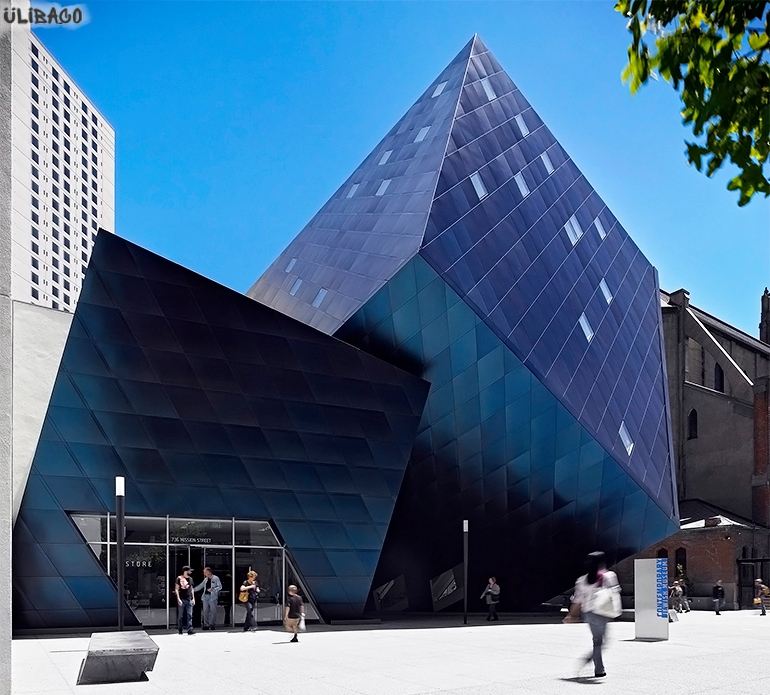 Даниэль Либескинд Музейный комплекс 1