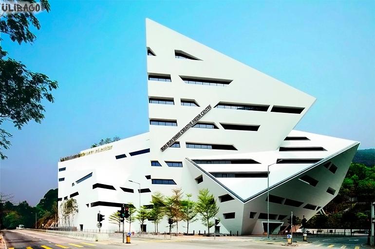 Даниэль Либескинд Учебное здание Run Run Shaw городского университета Гонконга 1