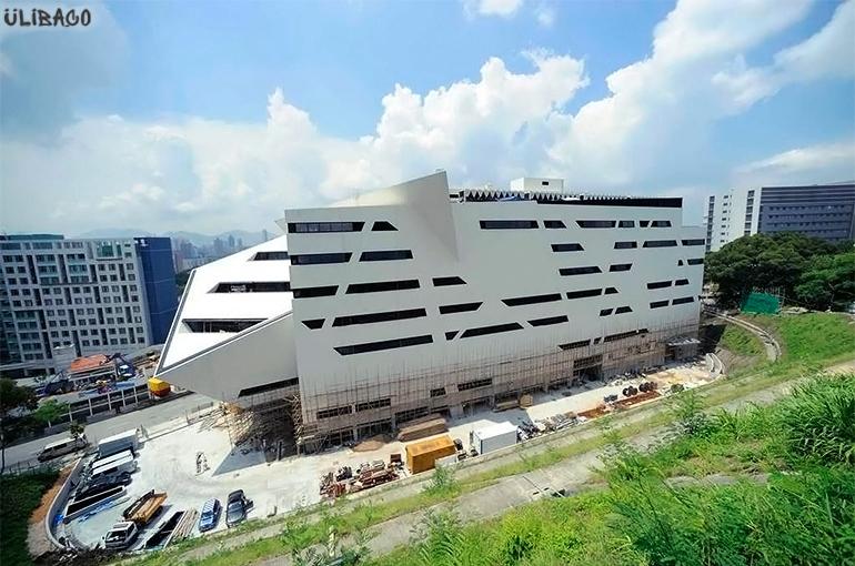 Даниэль Либескинд Учебное здание Run Run Shaw городского университета Гонконга 3