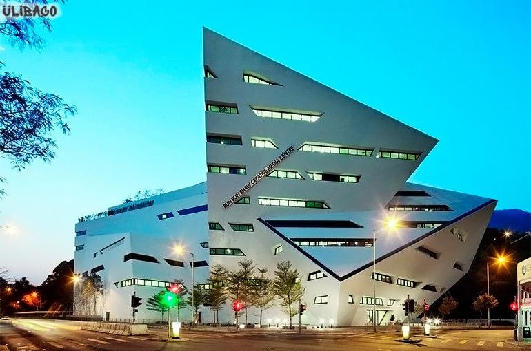 Даниэль Либескинд Учебное здание Run Run Shaw городского университета Гонконга 4