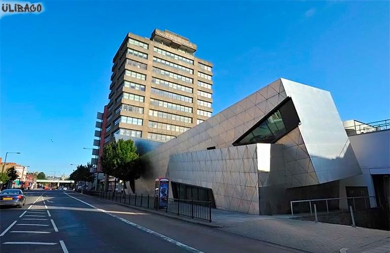 Даниэль Либескинд Центр аспирантуры лондонского университета 2