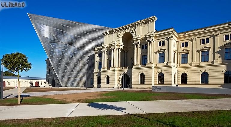 Даниэль Либескинд Военно-исторический музей в Дрездене 1