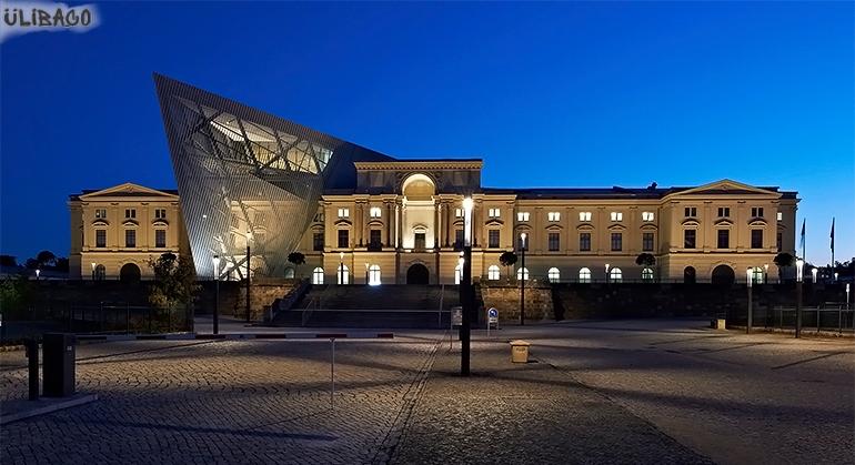 Даниэль Либескинд Военно-исторический музей в Дрездене 2