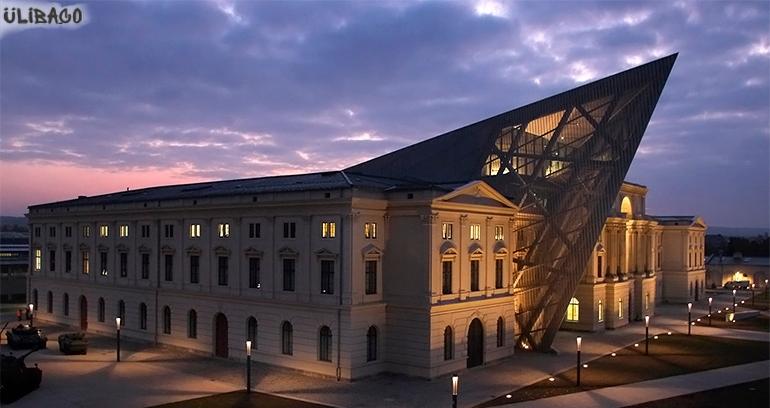 Даниэль Либескинд Военно-исторический музей в Дрездене 3