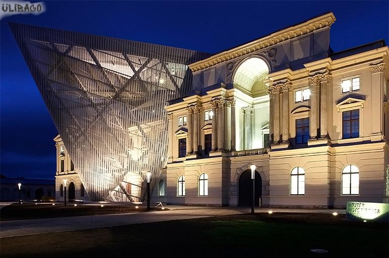 Даниэль Либескинд Военно-исторический музей в Дрездене 4