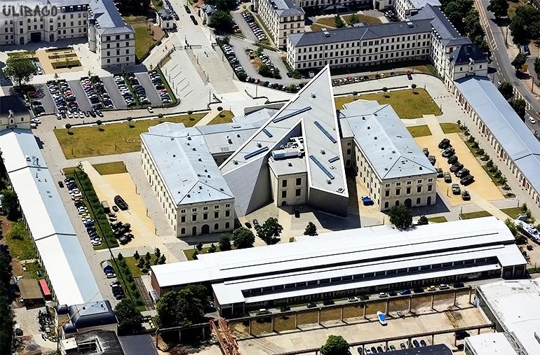 Даниэль Либескинд Военно-исторический музей в Дрездене 5