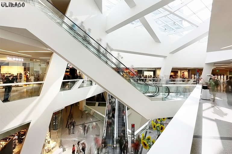 Даниэль Либескинд Westside Shopping Mall 8