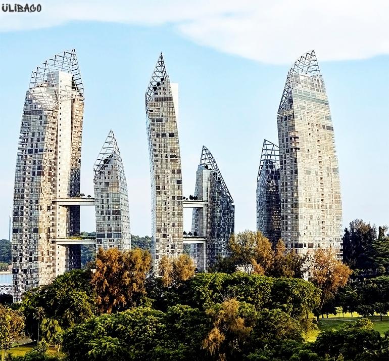 Даниэль Либескинд Жилой комплекс «Отражение» Сингапур 2