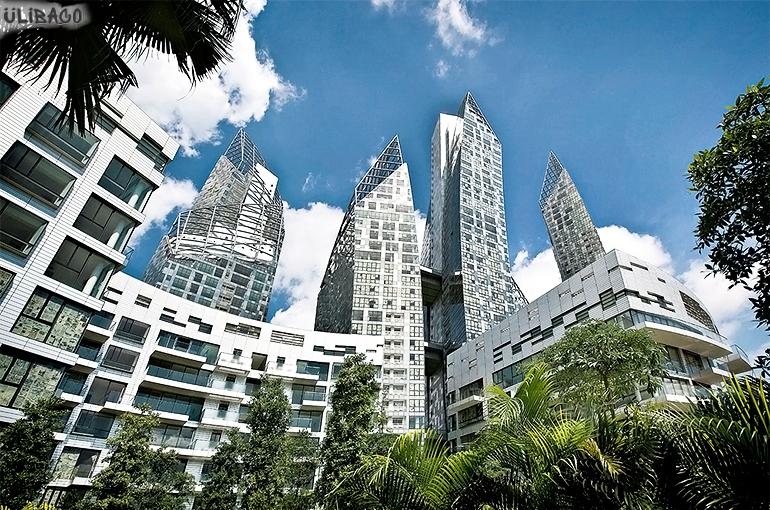 Даниэль Либескинд Жилой комплекс «Отражение» Сингапур 3
