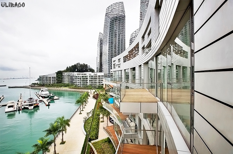 Даниэль Либескинд Жилой комплекс «Отражение» Сингапур 5