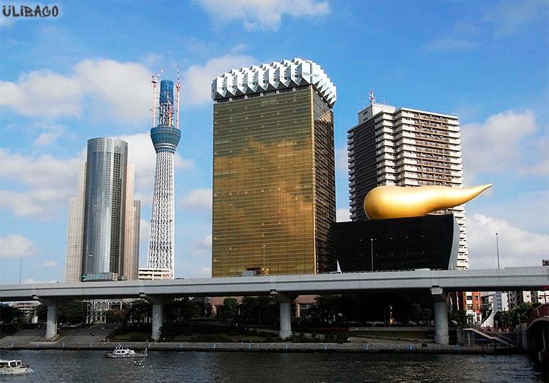 Филипп Старк Здание пивоваренной компании Asahi 1