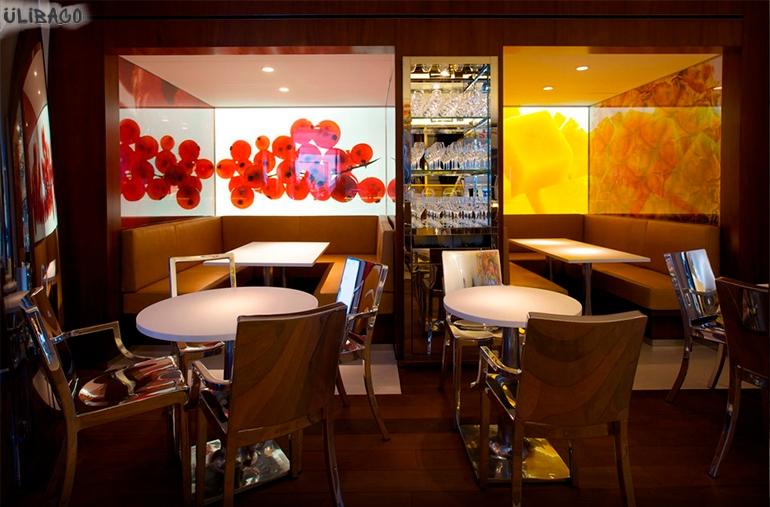 Филипп Старк Ресторан Le Paradis du fruit Roots 3