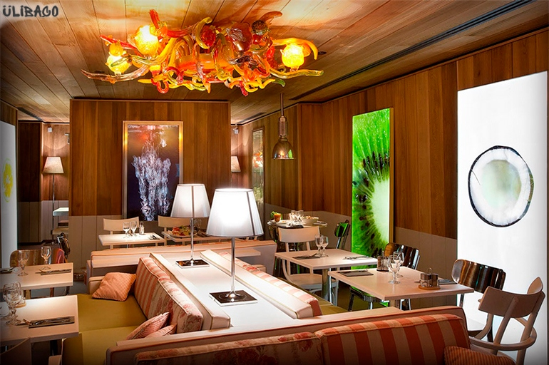 Филипп Старк Ресторан Le Paradis du fruit Roots 4