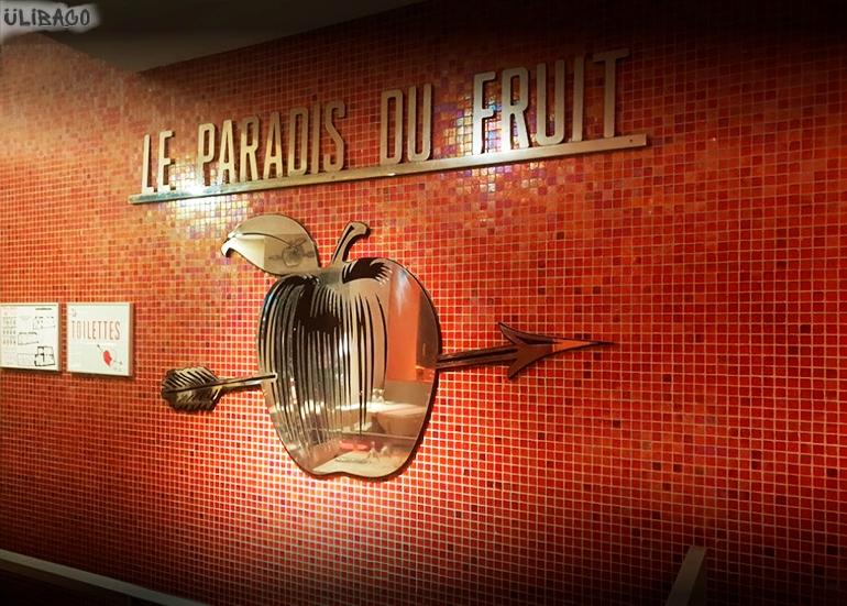 Филипп Старк Ресторан Le Paradis du fruit Roots 5