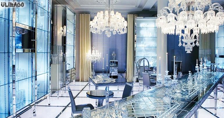 Филипп Старк отель Maison Baccarat 1