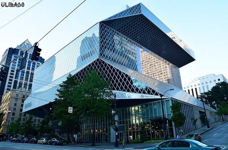 Рем Колхас Публичная библиотека Сиэтла 2