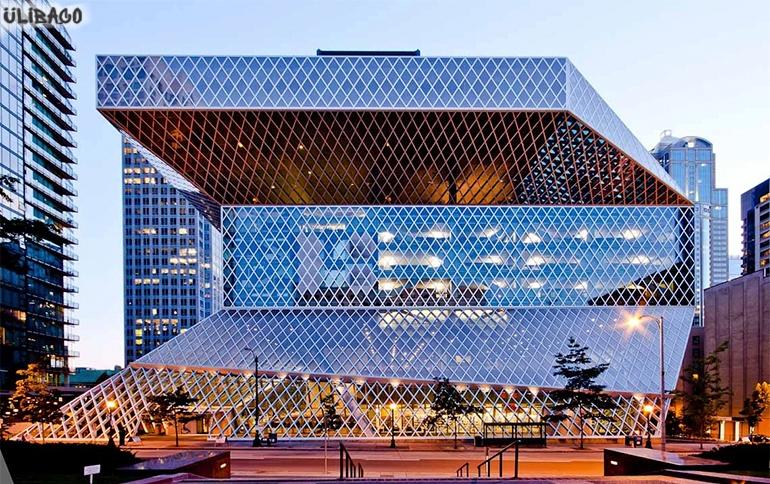 Рем Колхас Публичная библиотека Сиэтла 4