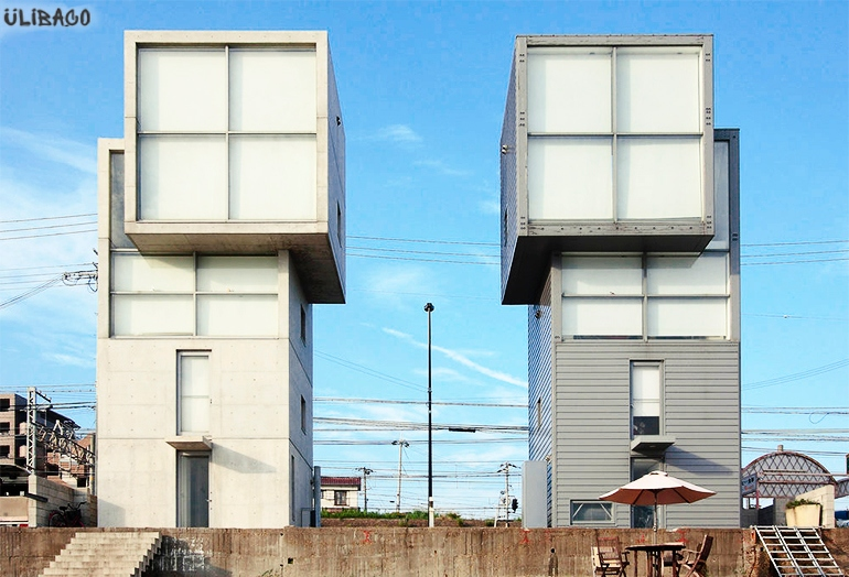 Тадао Андо Кубический дом 4×4 1
