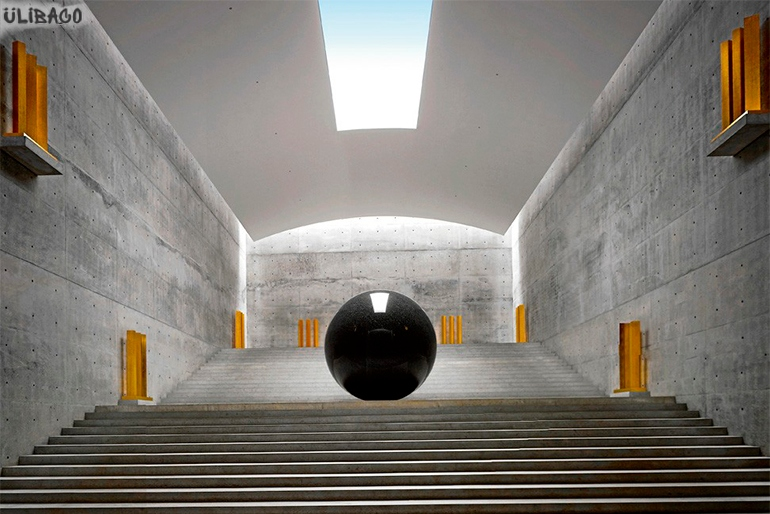 Тадао Андо Музей Chichu 5